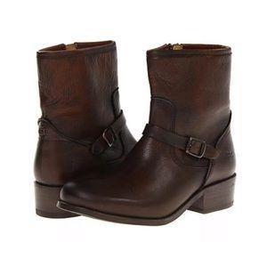 Frye Ankle Boots Cognac Size 7B